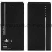 Power Bank 10000 mAh Remax Relan RPP-65 Black