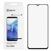 Защитное стекло Samsung Galaxy A40 2019 Red Line Full Glue 3D черное 0.33mm