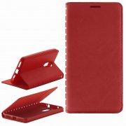 Чехол книжка Xiaomi Redmi Pro New Case 001 красный