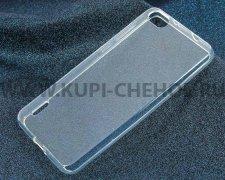 Чехол-накладка Huawei Ascend Honor 6 iBox Crystal прозрачный глянцевый 1.25mm