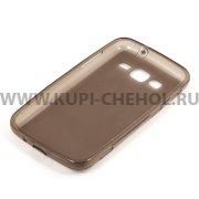 Чехол силиконовый Samsung Galaxy Core Advance i8580 6914 чёрный