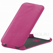 Чехол флип Lenovo A850+ Angell Case розовый
