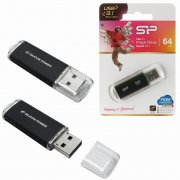 Флеш Silicon Blaze B02 64Gb Black USB 3.1