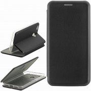 Чехол книжка Xiaomi Redmi 4X Fashion Case с визитницей чёрный