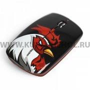 Мышка компьютерная б/п SmartBuy 327AG Красный петух