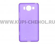 Чехол-накладка Microsoft 950 Lumia фиолетовый матовый
