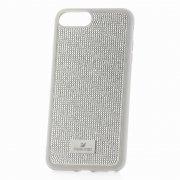 Чехол-накладка Apple iPhone 7 Plus Swarovski Стразы Silver