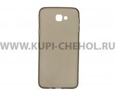 Чехол силиконовый Samsung Galaxy J5 Prime серый глянцевый 0.3mm