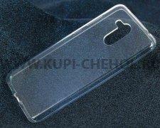 Чехол-накладка Huawei Honor 6C Pro iBox Crystal прозрачный глянцевый 1.25mm