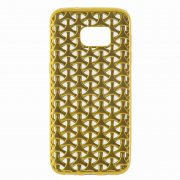 Чехол-накладка Samsung Galaxy S7 Edge 9451 золотой