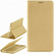 Чехол книжка Samsung Galaxy A7 A700f Book Case New золотой