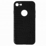 Чехол-накладка Apple iPhone 7 Plus 10027 Рептилия чёрный