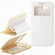 Чехол книжка Alcatel One Touch 6012X iDol mini Armor Case Air Slim Book белый