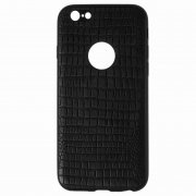 Чехол-накладка Apple iPhone 6/6S 10027 Рептилия чёрный