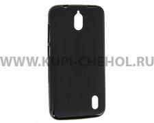 Чехол силиконовый Huawei Ascend Y625 X черный матовый 0.8mm