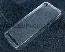 Чехол-накладка Xiaomi Redmi 5A iBox Crystal прозрачный глянцевый 0.5mm