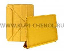 Чехол откидной Apple iPad 6 / Air 2 Smart Case золотой трансформер