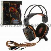 Игровая гарнитура SmartBuy Rush Cobra SBHG-1100 черно - оранжевая