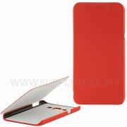 Чехол книжка Samsung Galaxy A8 A800f UpCase красный