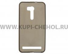 Чехол силиконовый ASUS ZenFone Go ZB551KL серый глянцевый 0.3mm