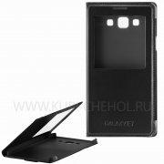 Чехол книжка Samsung E700f Galaxy E7 11461 Time чёрный