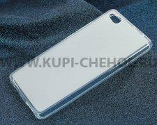 Чехол-накладка ZTE Nubia Z9 Max iBox Crystal прозрачный матовый 1.25mm