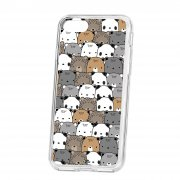 Чехол накладка для телефона iP 7 Kruche Print Медвежата