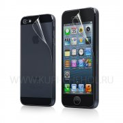 Защитная плёнка Apple iPhone 5/5S передняя+задняя Ainy глянцевая