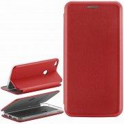 Чехол книжка Huawei P8 Lite (2017) Book Case New 3D красный
