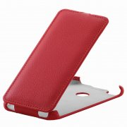 Чехол флип Huawei P8 Lite (2017) 1358 красный