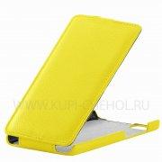 Чехол  откид  Huawei Honor 4X  UpCase  жёлт