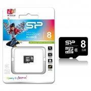 Micro SD 8Gb class 6 к/п Silicon
