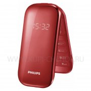 Телефон Philips E320 Red
