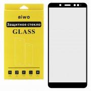 Защитное стекло Xiaomi Redmi Note 5 Pro Aiwo Full Screen чёрное 0.33mm