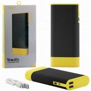 Power Bank 10000 mAh Remax Youth RPL-19 Black/Yellow