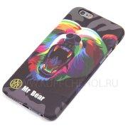 Чехол-накладка Apple iPhone 6 / 6S 4.7 Mr.Bear 8758 фосфор