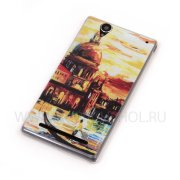 Чехол силиконовый Sony D5322 Xperia T2 Ultra Dual 8010