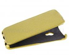 Чехол  откидной  ASUS  Zenfone 5  A501CG  Armor LUX  золот