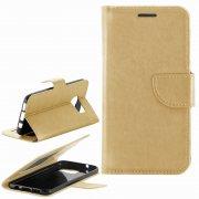 Чехол книжка Samsung Galaxy S7 Edge Ulike 7174-3 золотой