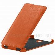 Чехол флип Lenovo S898T Angell Case оранжевый