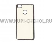 Чехол-накладка Xiaomi Mi 4s Hallsen прозрачный с черными краями