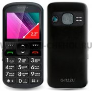 Телефон Ginzzu R12D Black