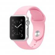 Ремешок для Watch 38mm S/M силиконовый светло-розовый