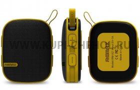 Колонка универсальная Bluetooth Remax RB - X2  желтая