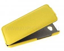 Чехол  откид  HTC Des 616  UpCase  жёлт