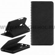 Чехол книжка Xiaomi Redmi Note 3 Book Case New черный