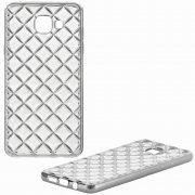 Чехол-накладка Samsung Galaxy A5 (2016) A510 Ромбы 9204 белый