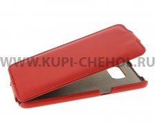 Чехол флип Samsung Galaxy S7 UpCase красный
