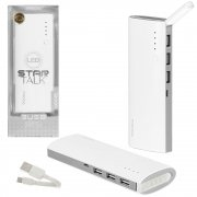 Power Bank 12000 mAh Proda PPP-11 White/Gray