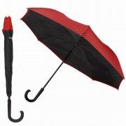 Двусторонний зонт WK WT-U1 Black/Red